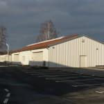 Oprechtice - stavba výrobní haly Fa Cerasus a.s.